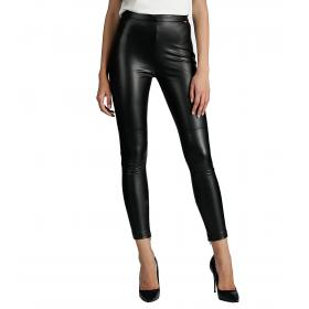 Leggings Guess in ecopelle aderente in tinta unita da donna rif. W94B72WBG60