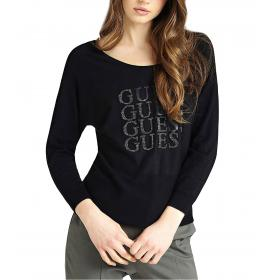 Maglione Guess con stampa con logo e applicazioni da donna rif. W94R72Z2760
