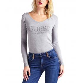 Maglione Guess con stampa logo con applicazioni da donna rif. W93R58Z2760