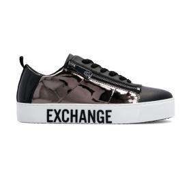 Sneakers Armani Exchange effetto specchiato da donna rif. XDX005 XV112 A323