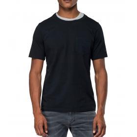 T-shirt Replay effetto layering girocollo da uomo rif. M3873.000.22432