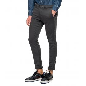 Pantaloni Replay chino slim fit in denim Hyperflex da uomo rif. M9627L.000.8166197