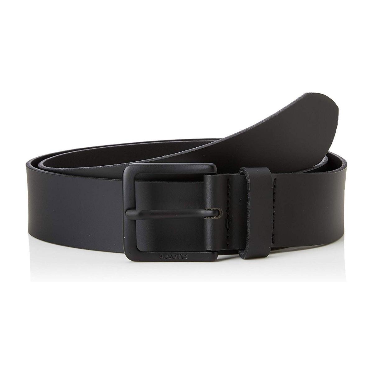 Cintura Levi's in pelle nera da uomo rif. 38016-0408