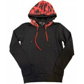Felpa Pyrex con cappuccio stampa camouflage multicolore da uomo rif. 19IPC40565