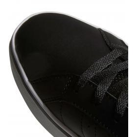 Scarpe Sneakers Adidas VS Pace in pelle nere e bianche da uomo B74494