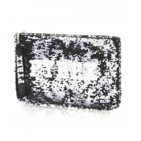 Pochette borsello Pyrex in paillettes con stampa da donna rif. PY20202