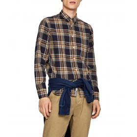 Camicia Pepe Jeans Donovan con stampa a quadri da uomo rif. PM306082
