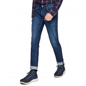 Jeans Pepe Jeans Stanley Taper fit regular waist da uomo rif. PM201705WU62