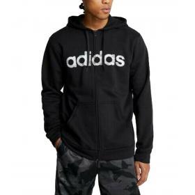 Felpa Adidas Camo Linear con cappuccio e stampa camouflage da uomo rif. EI9736