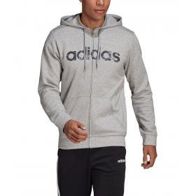 Felpa Adidas Camo Linear con cappuccio e stampa camouflage da uomo rif. EI9738
