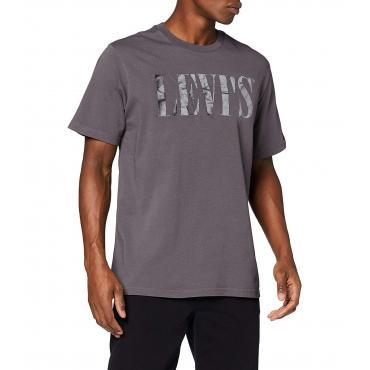 T-shirt Levi's Relaxed Graphic Tee 90's Serif Logo da uomo rif. 69978