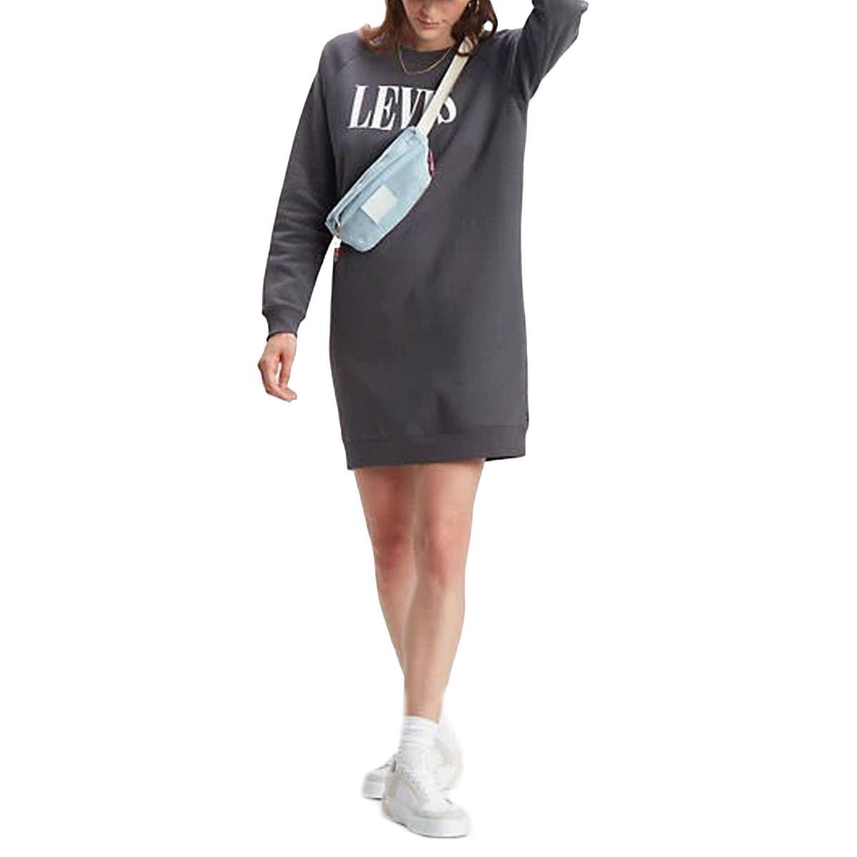 Vestitino Abito Levi's Crew Sweatshirt dress in felpa da donna rif. 81860-0003
