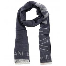 Sciarpa Armani Exchange con stampa all over unisex rif. 954107 9A103