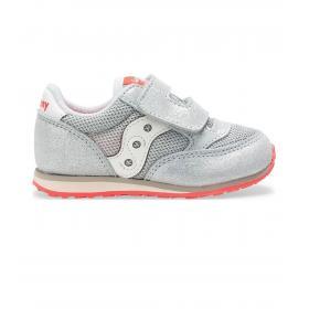 Scarpe Sneakers Saucony Baby Jazz HL Silver Sparkle da bimba rif. SL162511