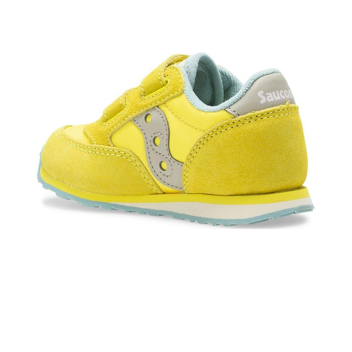 Scarpe Sneakers Saucony Baby Jazz HL Yellow da bimbo rif. SL162936