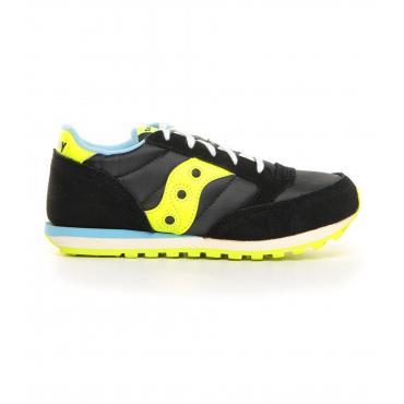 Scarpe Sneakers Saucony Jazz Original Kids Black da bambino rif. SK262942