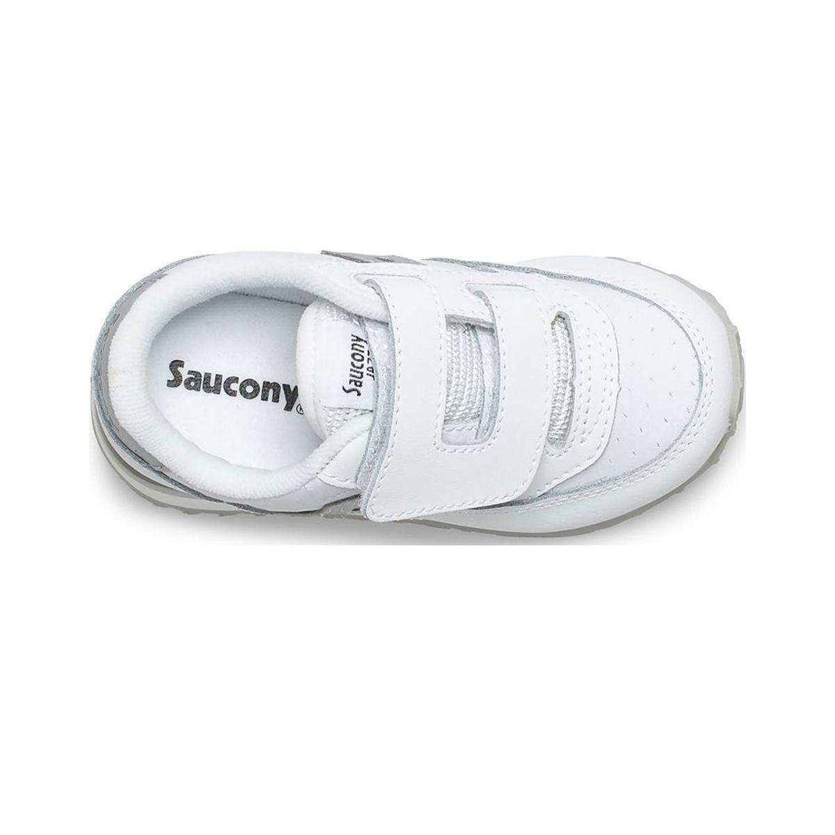 Scarpe Sneakers Saucony Baby Jazz HL White Perf da bimba rif. SL163043