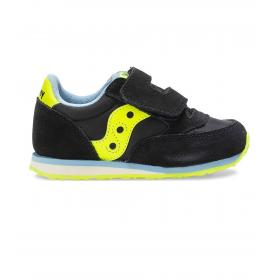 Scarpe Sneakers Saucony Baby Jazz HL Black da bimbo rif. SL262951