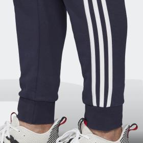 Pantaloni sportivi Adidas Essentials 3-Stripes Tapered Cuffed da uomo rif. DU0478
