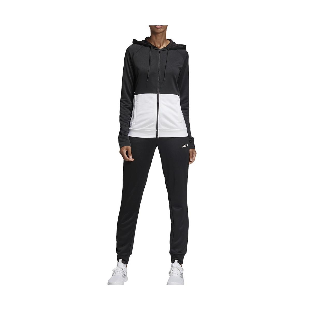 Tuta sportiva Adidas Linear French Terry da donna rif. DV2425