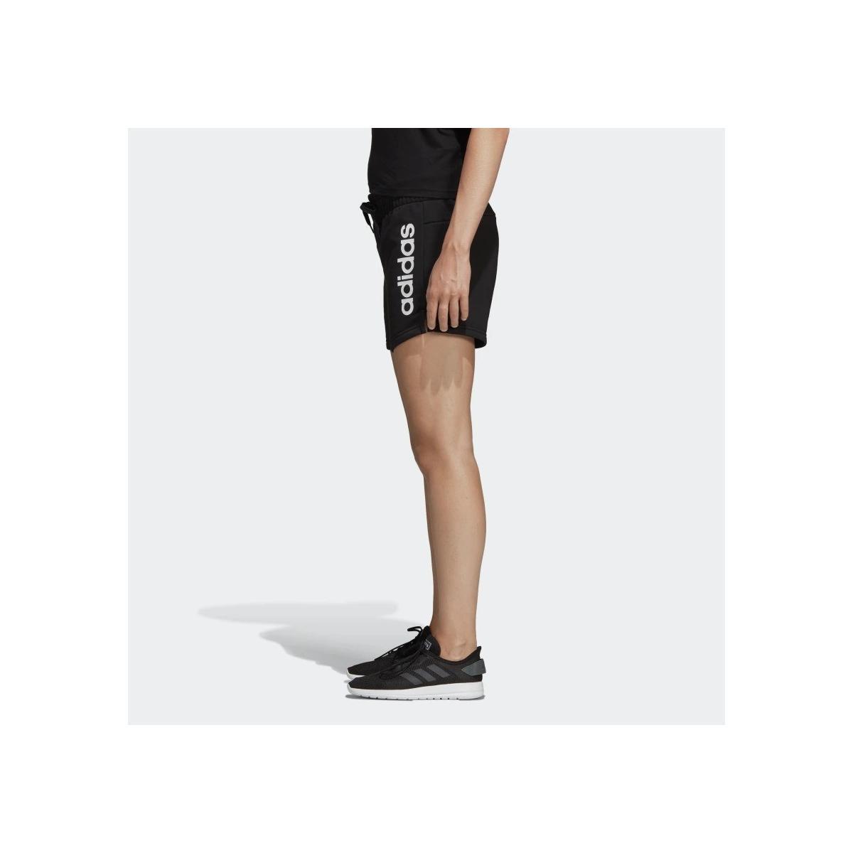 Shorts pantaloncini Adidas Essentials Linear Logo sportivi da donna rif. DP2393