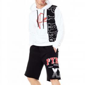 Bermuda shorts Pyrex in tuta con stampe laterali da uomo rif. 20EPC40950
