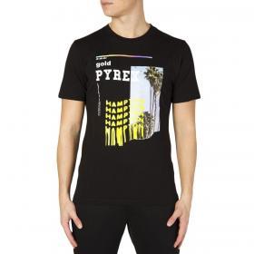 T-shirt Pyrex a maniche corte con stampa fotografica e logo da uomo rif. 20EPC41111