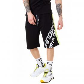 Bermuda shorts Pyrex in tuta con stampa e bande laterali da uomo rif. 20EPC40940