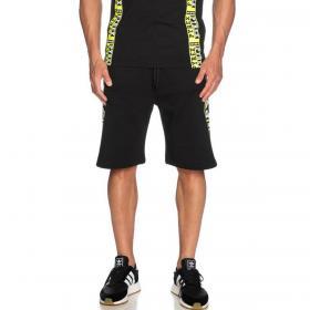 Bermuda shorts Pyrex con maxi stampe laterali da uomo rif. 20EPB40765