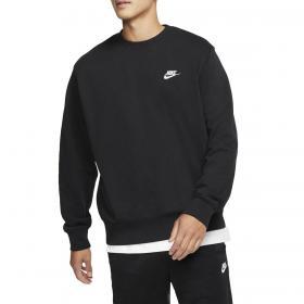 Felpa Nike Sportswear girocollo con logo ricamato da uomo rif. BV2666