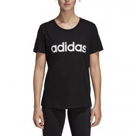 T-shirt Adidas Essentials Linear con stampa da donna rif. DP2361