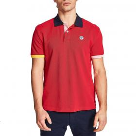 Polo North Sails Mazzaro regular fit in piquet di cotone da uomo rif. 692245 000