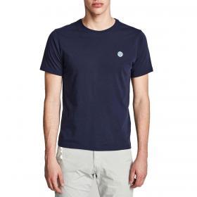 T-shirt North Sails in jersey di cotone girocollo da uomo rif. 692530 000