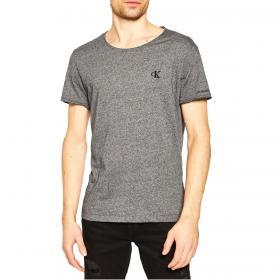 T-shirt Calvin Klein Jeans girocollo con mini logo sul petto da uomo rif. J30J315169