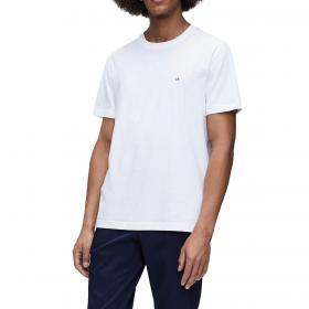 T-shirt Calvin Klein in cotone pettinato con mini logo da uomo rif. K10K105257