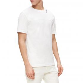 T-shirt Calvin Klein in cotone raffinato con logo da uomo rif. K10K105480