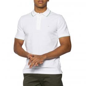 Polo Calvin Klein slim fit con mini logo sul petto da uomo rif. K10K104915