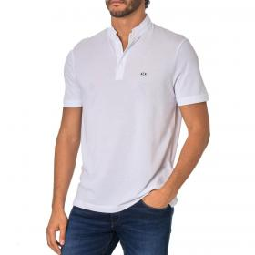 Polo Armani Exchange con colletto alla coreana da uomo rif. 3HZFGM ZJ1YZ