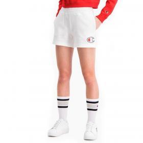 Pantaloncini shorts Champion logo con tape in vita da donna rif. 112648