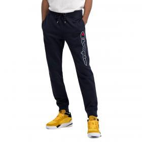 Pantaloni in tuta joggers Champion in cotone con logo satin da uomo rif. 214190