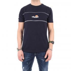 T-shirt Ellesse girocollo in cotone con logo sul petto da uomo rif. EHM215S20