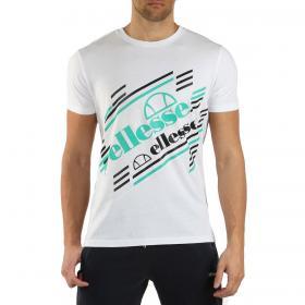 T-shirt Ellesse in cotone con maxi stampa da uomo rif. EHM236S20