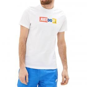 T-shirt Nike Sportswear JDI Bumper girocollo con stampa da uomo rif. CK2305