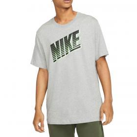 T-shirt Nike girocollo con maxi stampa sul petto da uomo rif. CK2777