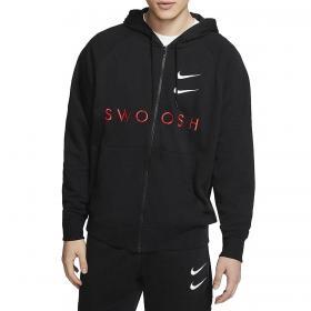 Felpa Nike Sportswear Swoosh con cappuccio e zip da uomo rif. CT7362