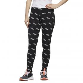 Leggings Adidas Tight Favorities con logo all over da donna rif. FM6193