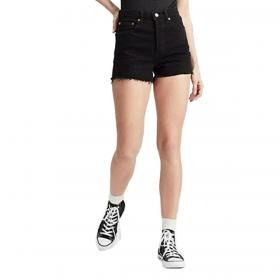 Pantaloncini shorts Levi's Ribcage short vita alta da donna rif. 77879-0002