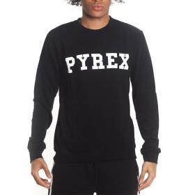 Felpa Pyrex con stampa con logo sul petto da uomo rif. 20EPB40030