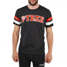 T-shirt Pyrex girocollo con stampa sul petto da uomo rif. 20EPB40737