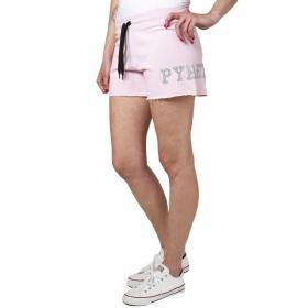 Shorts Pyrex con stampa laterale con glitter da donna rif. 20EPB40740